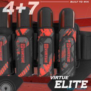 Virtue Elite Battlepack 4+7 Craphic Red 8