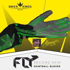 Bunker Kings Fly Gloves Lime 9