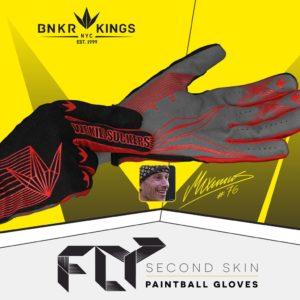 Bunker Kings Fly Gloves Red 11