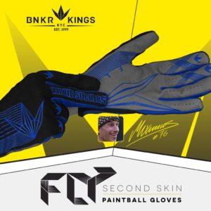 Bunker Kings Fly Gloves Blue 12