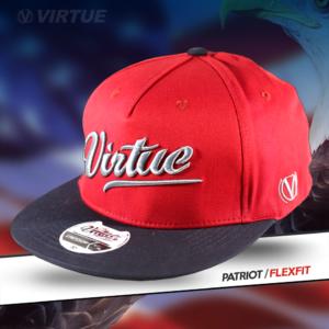 Virtue Flex Fit Cap Red Patriot All-Star 3
