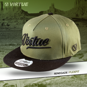 Virtue Flexfit Cap Olive Renegade All-Star 4