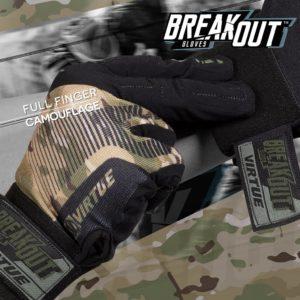 Virtue Break Out Full Finger Gloves Camo 8