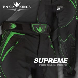 Bunker Kings V2 Supreme Pants Lime 4