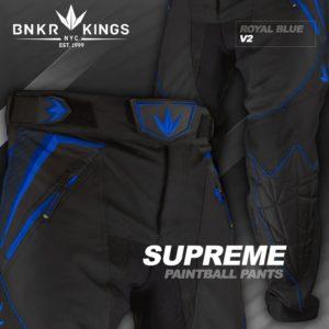 Bunker Kings V2 Supreme Pants Königs Blau 3