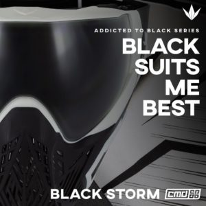 BunkerKings CMD Maske Black Storm 2