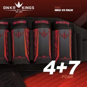 BunkerKings V5 Battlepack 4+7 Red 1