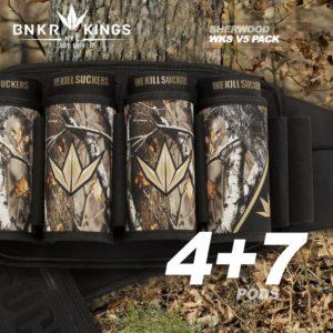 BunkerKings WKS V5 Battlepack 4+7 Sherwood Camo 2