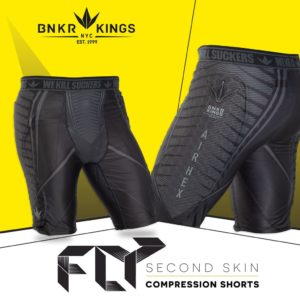 BUNKERKINGS FLY COMPRESSION SHORTS 1