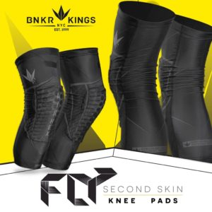 BUNKERKINGS FLY COMPRESSION KNEE PADS 2