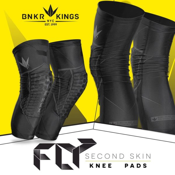 BUNKERKINGS FLY COMPRESSION KNEE PADS 1